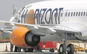 El avión que comercializará Flynayox será el quinto de la flota de B737 de Air Horizont.