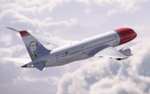 La efigie de Miró decorará los empenajes de cola de dos de las aeronaves.