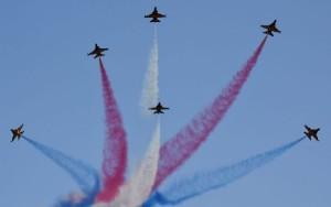 La patrulla acobatica de la Fuerza Aérea de Singapur celebrará este año en el Airshow su cincuenta aniversario.