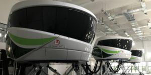 Screening in china a320 simulator