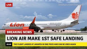 Lion Air es noticia