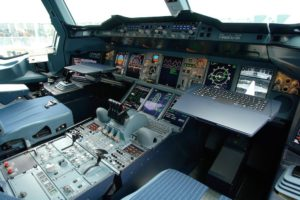 cockpit a380 automatizado para pilotos de ahora