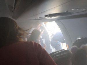 evacuacion humo en cabina