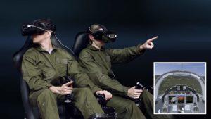 Formación de pilotos VR