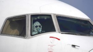 Coronavirus tripulación de vuelo