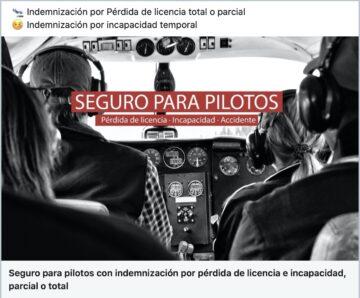 seguro perdida de licencia piloto