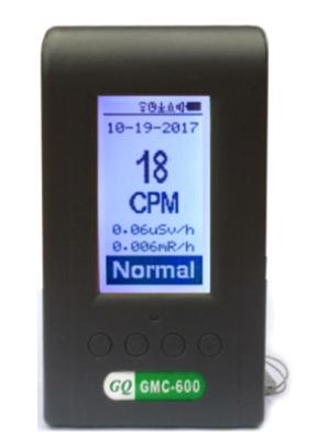 medidor radiaciones