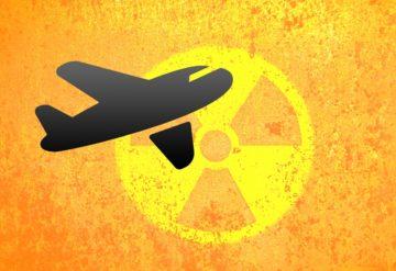 radiacion en vuelo