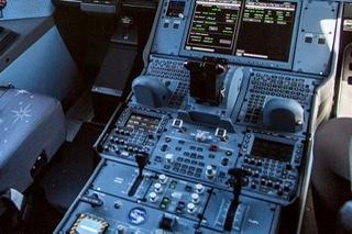 Cockpit a350 cafe