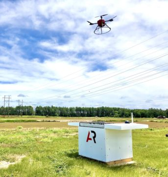 dron ar base
