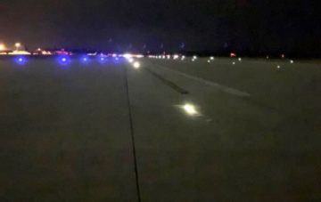 swiftair luces lateral pista