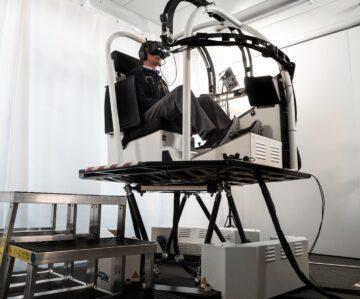 Simulador VR helicóptero