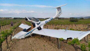 avion cesda se estrella alumno