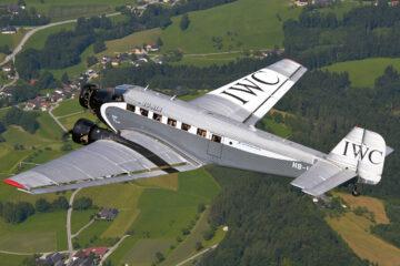 ju-air juners ju-52 suiza avion clasico