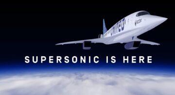 united avion supersonico