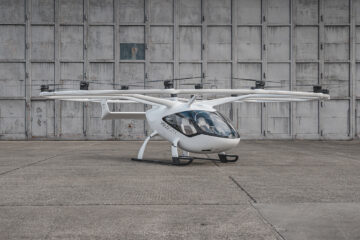 Volocopter VoloCity electric aircraft