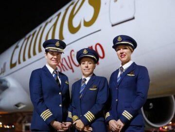 emirates mujer piloto b-777