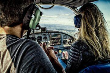 cascos de vuelo