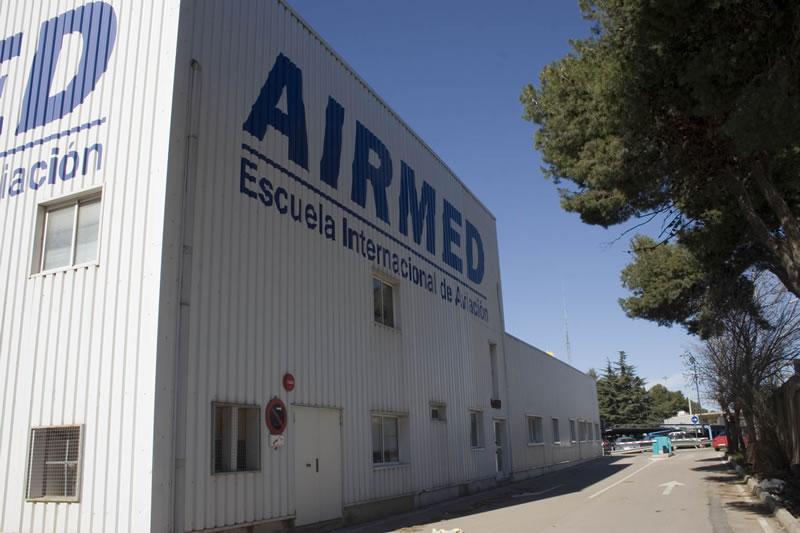 Las instalaciones en el aeropuerto de Valencia