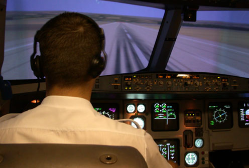Simulador, en la FTO Airmed
